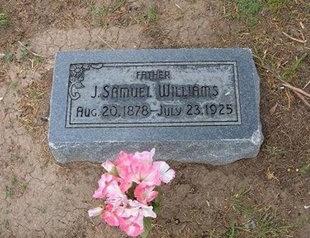 WILLIAMS, J SAMUEL - Baca County, Colorado   J SAMUEL WILLIAMS - Colorado Gravestone Photos