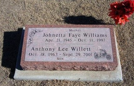 WILLIAMS, JOHNETTA FAYE - Baca County, Colorado | JOHNETTA FAYE WILLIAMS - Colorado Gravestone Photos