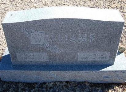 WILLIAMS, ALICE L - Baca County, Colorado | ALICE L WILLIAMS - Colorado Gravestone Photos