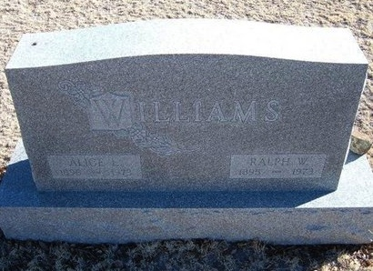 WILLIAMS, RALPH WALDO - Baca County, Colorado | RALPH WALDO WILLIAMS - Colorado Gravestone Photos