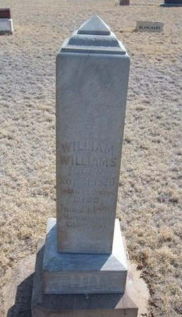 WILLIAMS, WILLIAM - Baca County, Colorado | WILLIAM WILLIAMS - Colorado Gravestone Photos