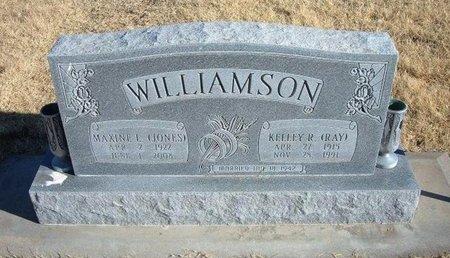 JONES WILLIAMSON, MAXINE L - Baca County, Colorado   MAXINE L JONES WILLIAMSON - Colorado Gravestone Photos