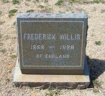 WILLIS, FREDERICK - Baca County, Colorado | FREDERICK WILLIS - Colorado Gravestone Photos