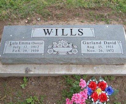 WILLS, GARLAND DAVID - Baca County, Colorado   GARLAND DAVID WILLS - Colorado Gravestone Photos