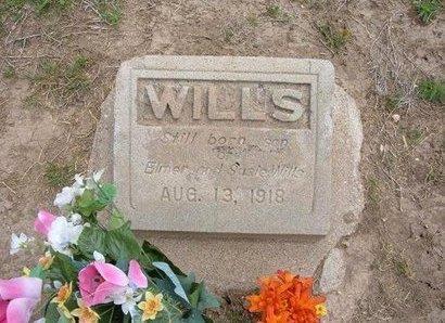 WILLS, INFANT SON - Baca County, Colorado | INFANT SON WILLS - Colorado Gravestone Photos