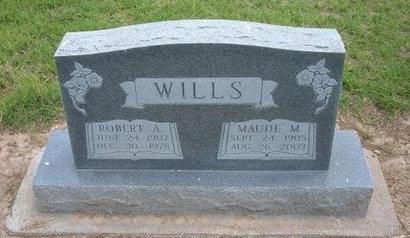 WILLS, ROBERT A - Baca County, Colorado | ROBERT A WILLS - Colorado Gravestone Photos