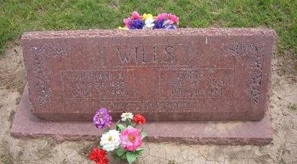 WAGGONER WILLS, EFFIE GENEVA - Baca County, Colorado | EFFIE GENEVA WAGGONER WILLS - Colorado Gravestone Photos
