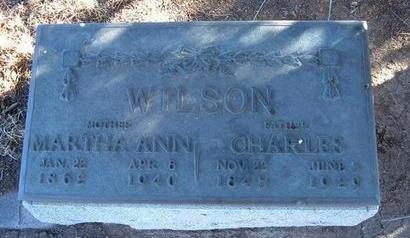 WILSON, CHARLES - Baca County, Colorado   CHARLES WILSON - Colorado Gravestone Photos