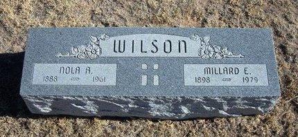 WILSON, NOLA A - Baca County, Colorado | NOLA A WILSON - Colorado Gravestone Photos