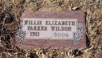 WILSON, WILLIE ELIZABETH - Baca County, Colorado | WILLIE ELIZABETH WILSON - Colorado Gravestone Photos