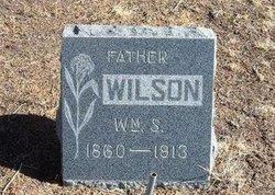 WILSON, WILLIAM S - Baca County, Colorado | WILLIAM S WILSON - Colorado Gravestone Photos