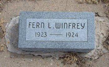 WINFREY, FERN L - Baca County, Colorado | FERN L WINFREY - Colorado Gravestone Photos