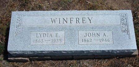 WINFREY, LYDIA E - Baca County, Colorado | LYDIA E WINFREY - Colorado Gravestone Photos