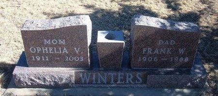 WINTERS, FRANK W - Baca County, Colorado | FRANK W WINTERS - Colorado Gravestone Photos