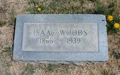 WOODS, ISAAC - Baca County, Colorado | ISAAC WOODS - Colorado Gravestone Photos
