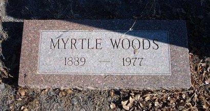 WOODS, MYRTLE - Baca County, Colorado | MYRTLE WOODS - Colorado Gravestone Photos