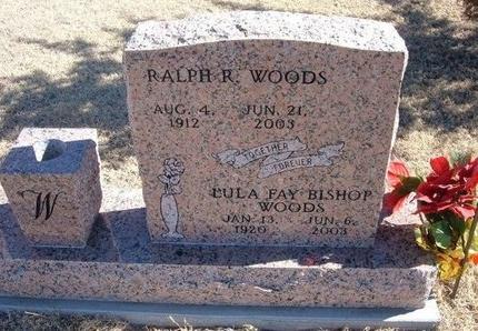 WOODS, LULA FAY - Baca County, Colorado | LULA FAY WOODS - Colorado Gravestone Photos