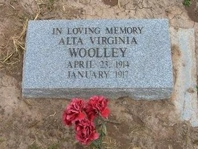 WOOLLEY, ALTA VIRGINIA - Baca County, Colorado | ALTA VIRGINIA WOOLLEY - Colorado Gravestone Photos