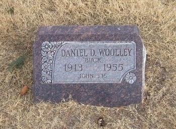 """WOOLLEY, DANIEL D """"BUCK"""" - Baca County, Colorado   DANIEL D """"BUCK"""" WOOLLEY - Colorado Gravestone Photos"""