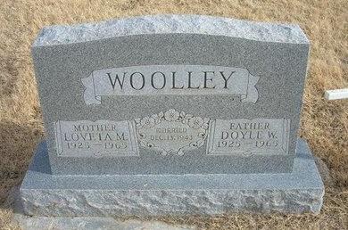 WOOLLEY, DOYLE W - Baca County, Colorado   DOYLE W WOOLLEY - Colorado Gravestone Photos
