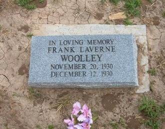 WOOLLEY, FRANK LAVERNE - Baca County, Colorado | FRANK LAVERNE WOOLLEY - Colorado Gravestone Photos