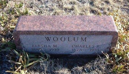 HARMON WOOLUM, BERTHA ETHEL MAY - Baca County, Colorado | BERTHA ETHEL MAY HARMON WOOLUM - Colorado Gravestone Photos