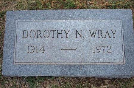 WRAY, DOROTHY N - Baca County, Colorado | DOROTHY N WRAY - Colorado Gravestone Photos