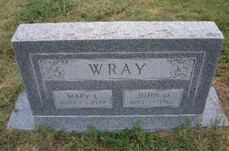 "WRAY, JOHN DANIEL ""JOHNNY"" - Baca County, Colorado 
