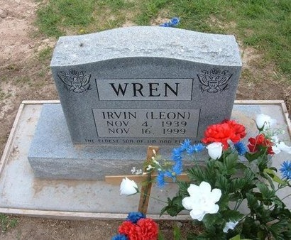WREN, IRVIN LEON - Baca County, Colorado | IRVIN LEON WREN - Colorado Gravestone Photos