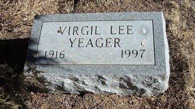 YEAGER, VIRGIL LEE - Baca County, Colorado | VIRGIL LEE YEAGER - Colorado Gravestone Photos
