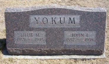 YOKUM, JOHN L - Baca County, Colorado | JOHN L YOKUM - Colorado Gravestone Photos