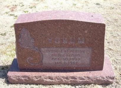 YOKUM, LYDIA CATHERINE - Baca County, Colorado | LYDIA CATHERINE YOKUM - Colorado Gravestone Photos