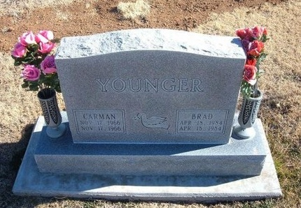 YOUNGER, CARMAN - Baca County, Colorado | CARMAN YOUNGER - Colorado Gravestone Photos
