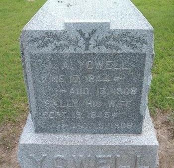 YOWELL (VETERAN CSA), AYLETT A - Baca County, Colorado | AYLETT A YOWELL (VETERAN CSA) - Colorado Gravestone Photos