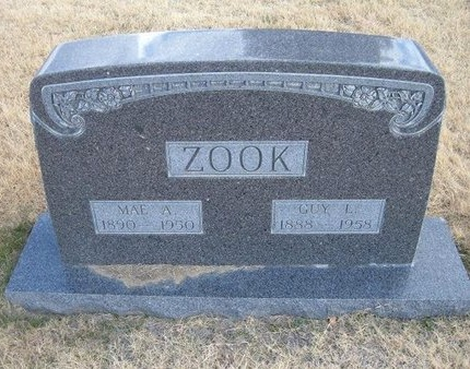 ZOOK, MAE A - Baca County, Colorado | MAE A ZOOK - Colorado Gravestone Photos