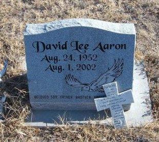 AARON, DAVID LEE - Bent County, Colorado   DAVID LEE AARON - Colorado Gravestone Photos