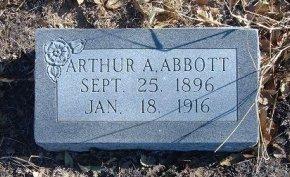 ABBOTT, ARTHUR A - Bent County, Colorado   ARTHUR A ABBOTT - Colorado Gravestone Photos