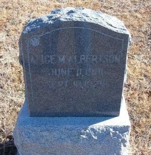 BEAVERS ALBERTSON, ALICE M - Bent County, Colorado | ALICE M BEAVERS ALBERTSON - Colorado Gravestone Photos