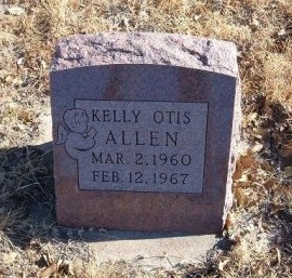 ALLEN, KELLY OTIS - Bent County, Colorado   KELLY OTIS ALLEN - Colorado Gravestone Photos