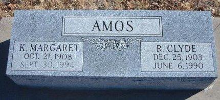 AMOS, R CLYDE - Bent County, Colorado | R CLYDE AMOS - Colorado Gravestone Photos