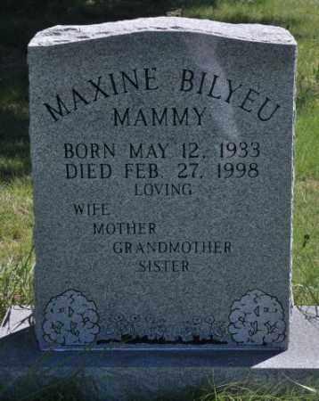 BILYEU, MAXINE - Bent County, Colorado | MAXINE BILYEU - Colorado Gravestone Photos