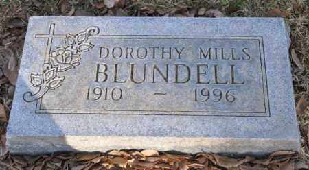 BLUNDELL, DOROTHY MILLS - Bent County, Colorado | DOROTHY MILLS BLUNDELL - Colorado Gravestone Photos
