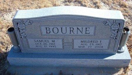 BOURNE, MILDRED I - Bent County, Colorado | MILDRED I BOURNE - Colorado Gravestone Photos