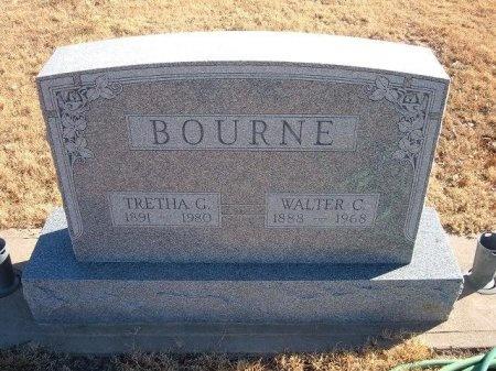 BOURNE, WALTER CLINTON - Bent County, Colorado | WALTER CLINTON BOURNE - Colorado Gravestone Photos