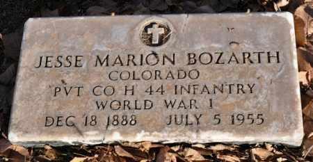 BOZARTH, JESSE MARION - Bent County, Colorado | JESSE MARION BOZARTH - Colorado Gravestone Photos