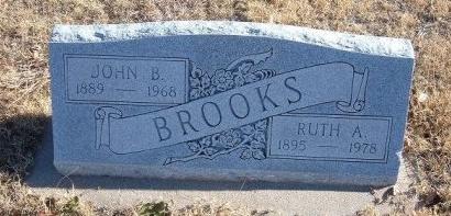 BROOKS, RUTH A - Bent County, Colorado | RUTH A BROOKS - Colorado Gravestone Photos