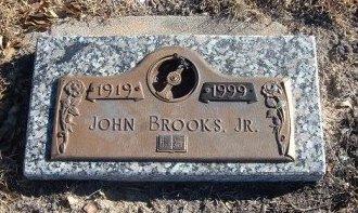 BROOKS, JR, JOHN - Bent County, Colorado | JOHN BROOKS, JR - Colorado Gravestone Photos