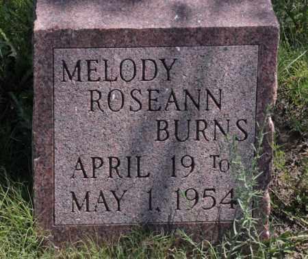 BURNS, MELODY ROSEANN - Bent County, Colorado   MELODY ROSEANN BURNS - Colorado Gravestone Photos