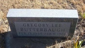 BUTTERBAUGH, GREGORY LEE - Bent County, Colorado | GREGORY LEE BUTTERBAUGH - Colorado Gravestone Photos