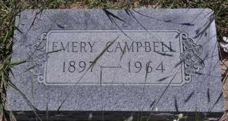 CAMPBELL, EMERY - Bent County, Colorado   EMERY CAMPBELL - Colorado Gravestone Photos